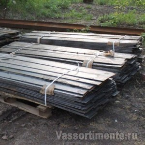 Полоса горячеоцинкованная 60х6 мм L=6м ГОСТ 103-2006